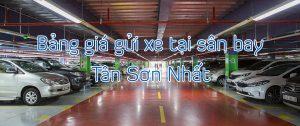 Bảng giá gửi xe máy tại sân bay Tân Sơn Nhất