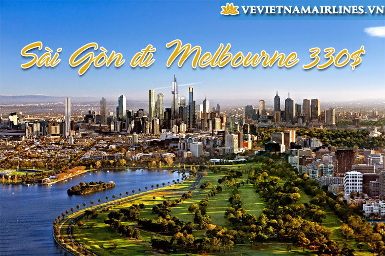 ve may bay vietnam airlines sai gon melbourne