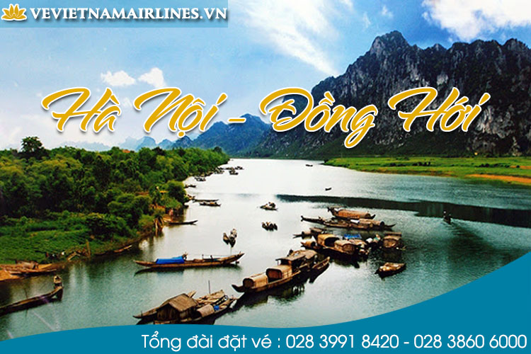 ve may bay ha noi di dong hoi