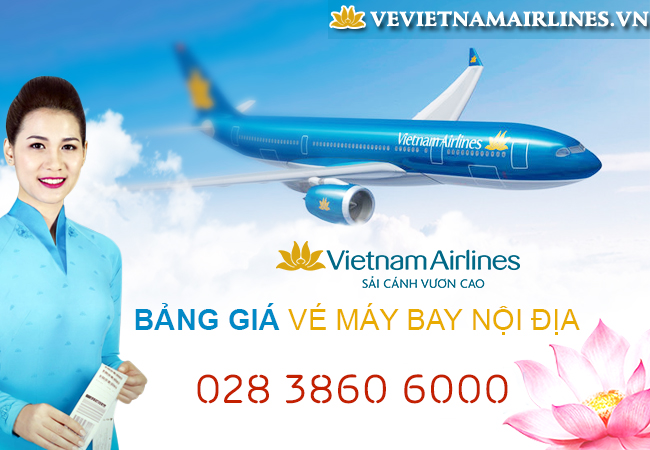 ve may bay khuyen mai vietnam airlines